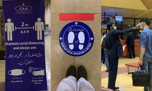 Karachi to Dubai: What it's like to travel by air during a pandemic