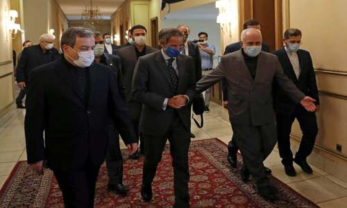 Iran hails 'constructive' talks with visiting IAEA chief