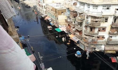 Netizens rage against authorities as several areas of Karachi remain powerless, submerged days after rain