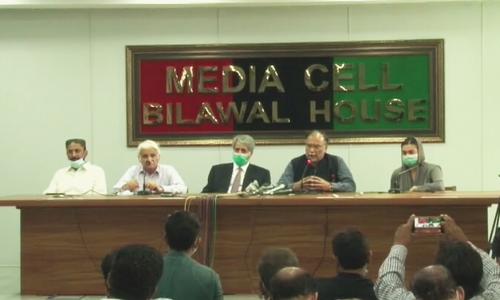 Shehbaz visits rain-hit Karachi with PML-N leaders; call on Bilawal, Zardari