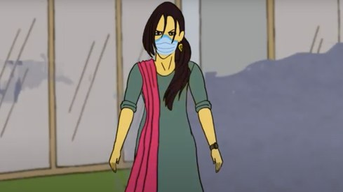 Pakistani trans superhero Bijli is ready to fight Covid-19
