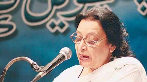 Fahmida Riaz's daughter turns down presidential award for late mother