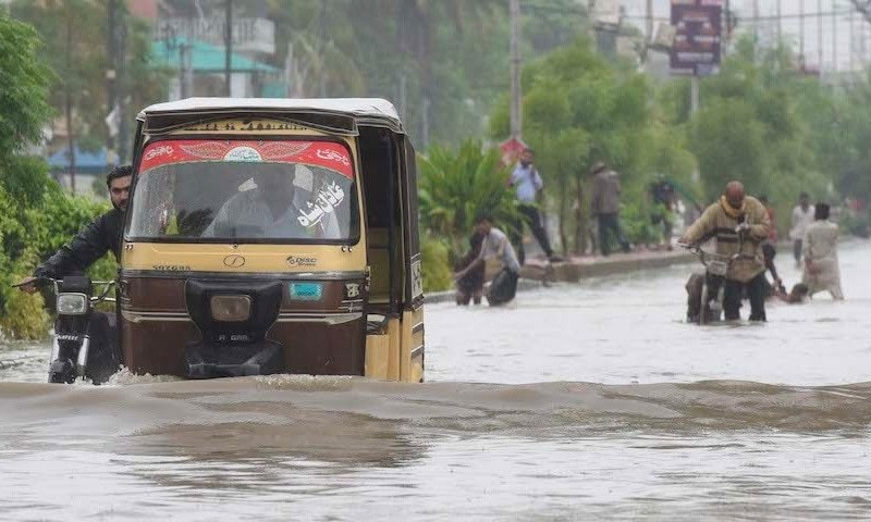 WHY KARACHI FLOODS