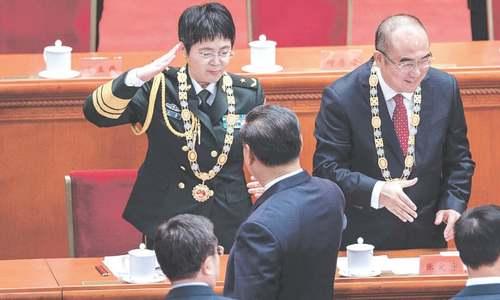China holds ceremony to celebrate beating coronavirus