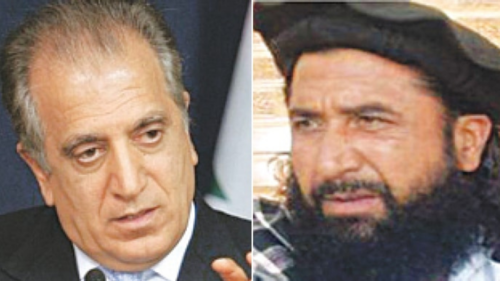 US envoy meets Baradar, Haqqani ahead of peace talks