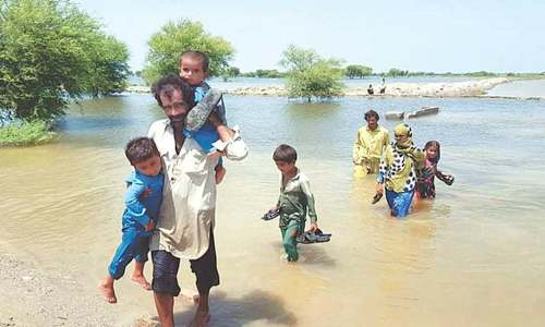 UK pledges support for flood victims in Pakistan