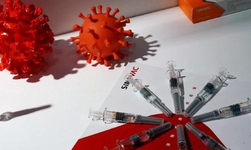 چین میں کورونا ویکسین کی لاکھوں افراد میں کامیاب آزمائش