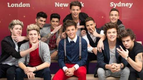 One Direction wax statues removed from Madame Tussauds