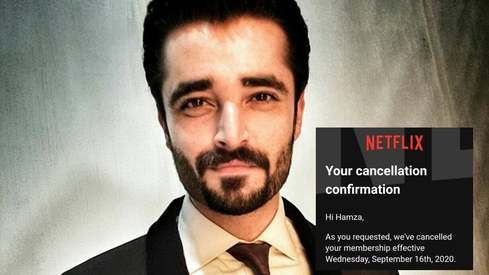 Hamza Ali Abbasi has cancelled his Netflix subscription and thinks you should too