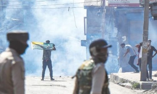 Kashmiris clash with Indian troops after killing of four