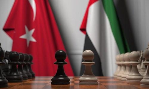 ترکی اور متحدہ عرب امارات کے مابین بڑھتی کشیدگی اور خطے کا مستقبل