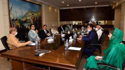 حکومت مخالف حکمت عملی کیلئے اپوزیشن کی کثیرالجماعتی کانفرنس کا آغاز