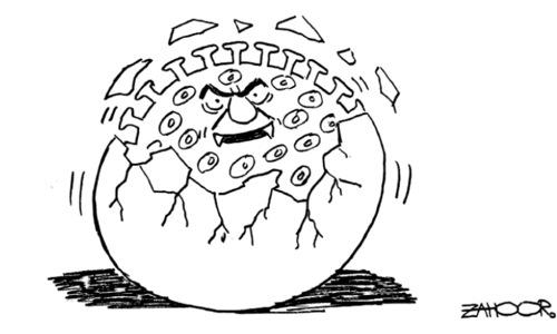 Cartoon: 21 September, 2020