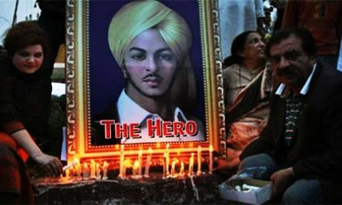Bhagat Singh's India in ferment