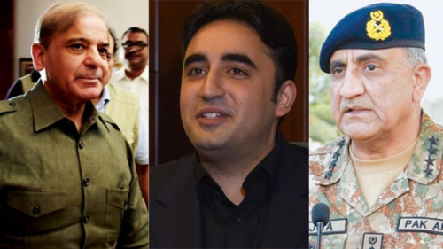 عسکری قیادت کی اپوزیشن رہنماؤں سے ملاقات، 'فوج کو سیاست میں نہ گھسیٹا جائے'