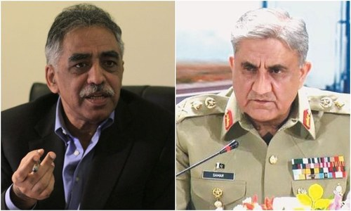 DG ISPR says PML-N's Zubair met COAS twice to discuss Maryam, Nawaz