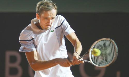 Top seed Medvedev falls at first hurdle