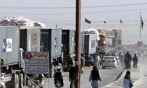 ای سی سی کی تجارت کیلئے افغانستان سے منسلک سرحد پر ایک اور 'کراسنگ' کھولنے کی منظوری