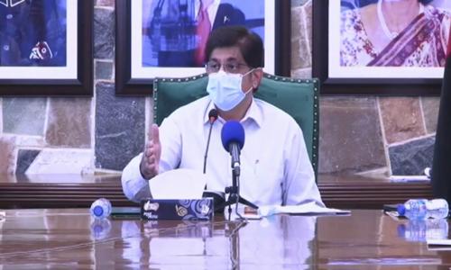 سندھ کیلئے وفاقی حکومت کی 'بے حسی' پر سخت احتجاج کرتا ہوں، وزیراعلیٰ سندھ