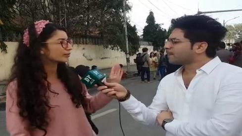 Disrupting women's rights protests, one male journo at a time