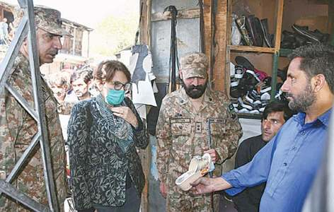 Diplomats visit LoC, meet survivors of Indian shelling