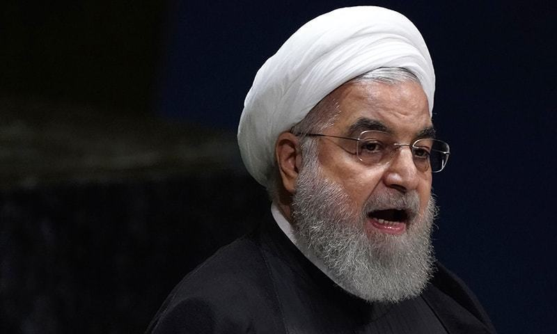 Iranian president accuses US of 'savagery' after new sanctions