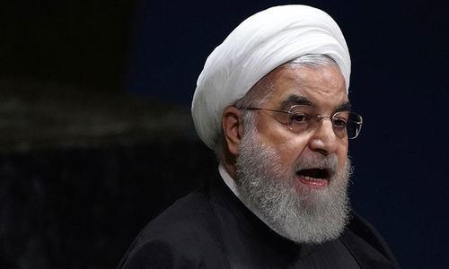 نئی پابندیاں: ایرانی صدر نے امریکا کو 'وحشی' قرار دے دیا