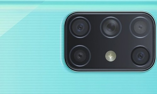 سام سنگ اپنا پہلا 5 بیک کیمروں والا فون متعارف کرانے کیلئے تیار