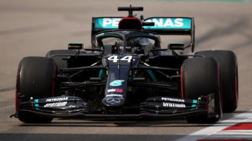 Hamilton grabs Russian GP pole