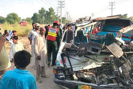 Six of a family killed in car-truck collision