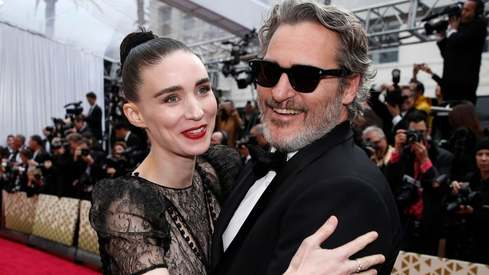 Joaquin Phoenix and Rooney Mara welcome baby boy