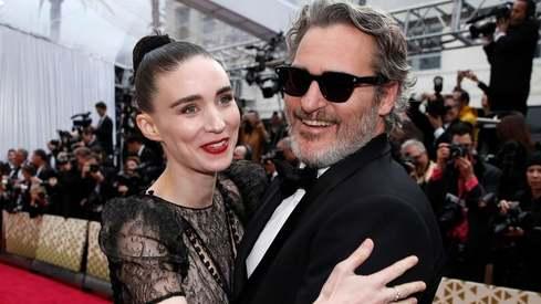 Joaquin Phoenix and Rooney Mara welcome baby boy