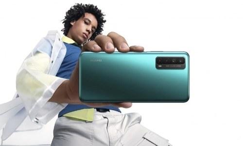 ہواوے کا مڈرینج فون پی اسمارٹ 2021 متعارف