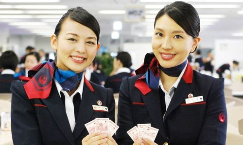 جاپانی ایئرلائن اب مہمانوں کو صنفی تفریق کے بغیر خوش آمدید کہے گی