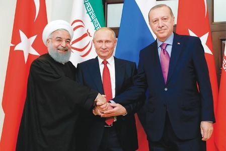 ترکی، روس اور ایران کن معاملات میں مصروف ہیں؟