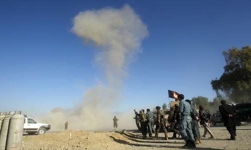 افغانستان: سڑک کنارے نصب بم کے دھماکے میں 14 افراد ہلاک