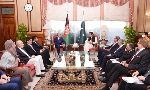 وزیراعظم کا افغانستان کی تعمیرنو کیلئے پاکستان کی مکمل حمایت کا اعادہ