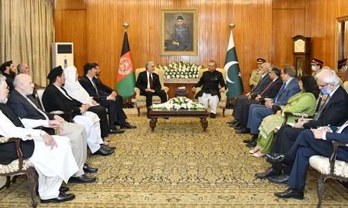 افغان تنازع کا فوجی حل نہیں، سیاسی مذاکرات ہی آگے بڑھنے کا راستہ ہیں، عارف علوی