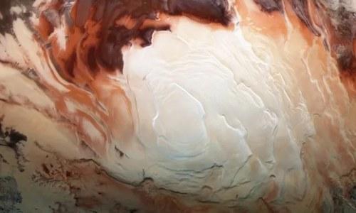 مریخ میں پانی کی 3 جھیلیں دریافت