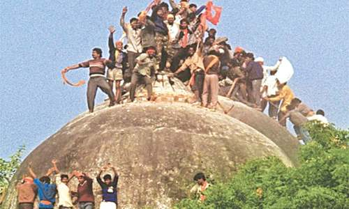 Advani, 31 others absolved of conspiracy to raze Babri Masjid