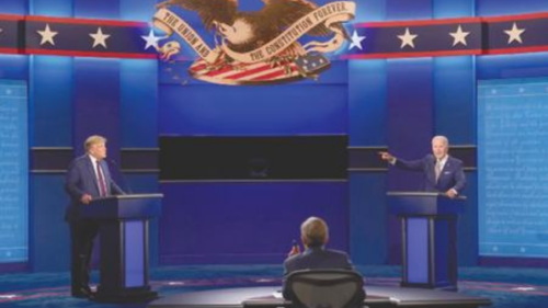 Chaotic debate leaves America dispirited