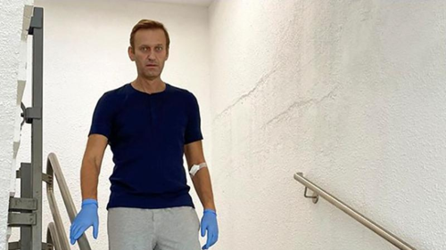 Kremlin critic Navalny tells magazine Putin was behind crime against him