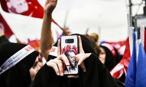 ترکی میں سوشل میڈیا پر حکومتی کنٹرول بڑھانے کے قوانین نافذ