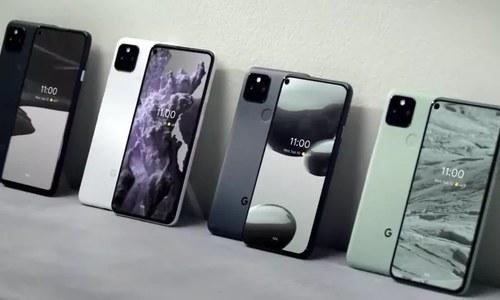 گوگل کے اولین 5 جی پکسل فونز متعارف