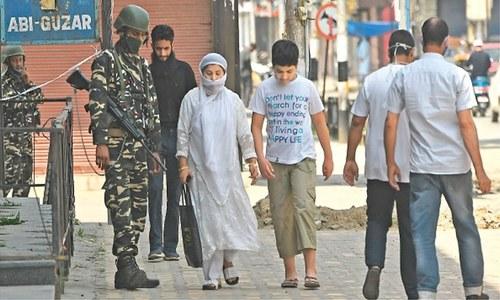 Bodies of Kashmiris wrongly termed terrorists exhumed in IOK