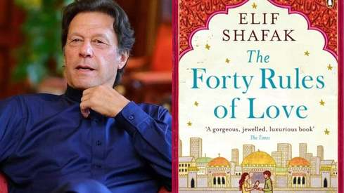 Imran Khan recommends you read The Forty Rules of Love