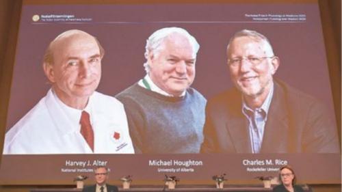 US-British trio win medicine Nobel for Hepatitis C discovery
