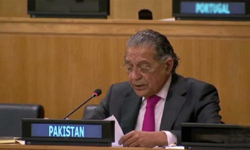 Hong Kong affairs Beijing's internal matter, Pakistan tells UN panel