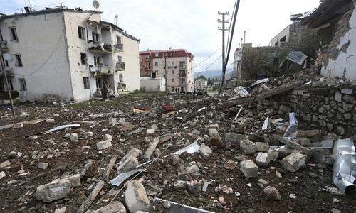 New shelling rocks Karabakh ahead of first mediation efforts on Armenia-Azerbaijan clashes