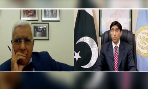 Talks with India only possible with Kashmir as third party, says SAPM Moeed Yusuf